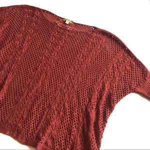Altar'd State Knit Batwing Sweater Size Large
